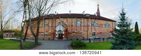 Holy Nativity of Virgin Orthodox convent on territory of Brest fortress Belarus