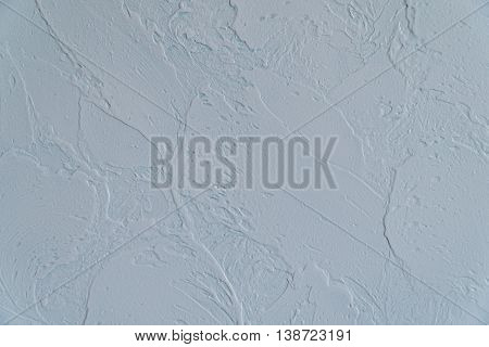 Decorative plaster effect on wall. Decorative plaster effect on wall.