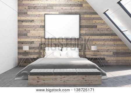 Modern Bedroom With Bedside Tables