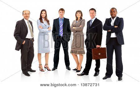 grupo ou multidão de pessoas pequenas isoladas em linha