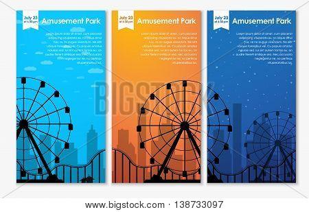 Design Amusement Park Banners