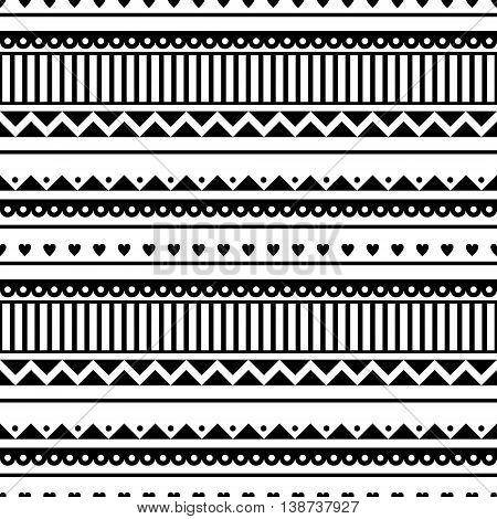 Vector Seamless Pattern. Graphic Illustration