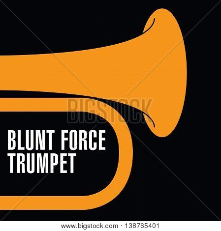 Blunt Force Trumpet Jazz artwork for print or web