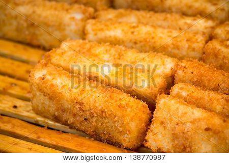 Golden Crispy Fish Stick Is A Good Appetizer