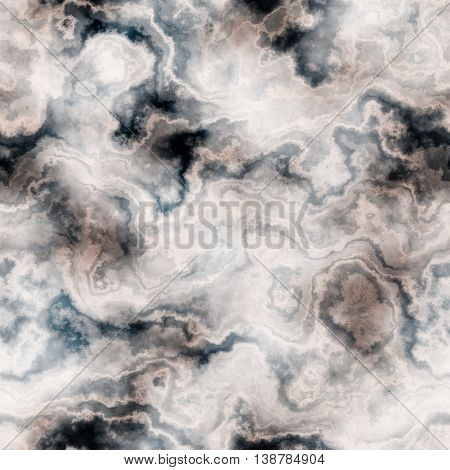 Seamless texture of mottled marble pattern for background / illustration