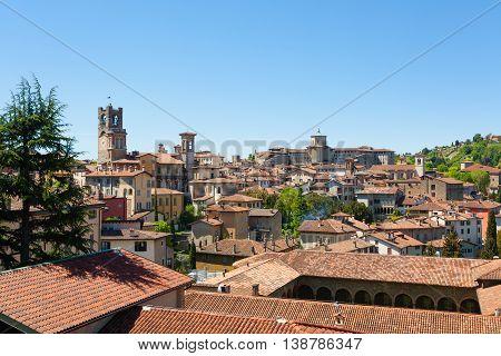Italian Panorama, Upper City Of