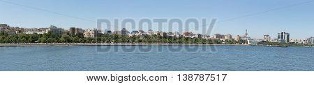 Baku Panorama View