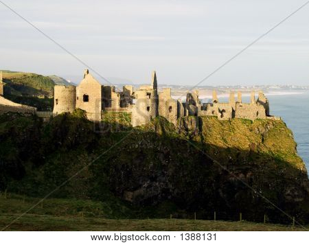 Dunluce Castle In Northern Ireland