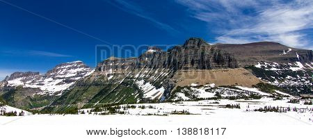 Landscapes from Hidden Lake Trail, Glaciers National Park, Montana