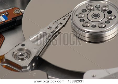 Detail of Hard Disk Drive