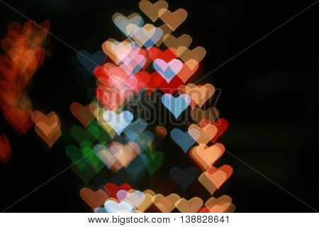 bokeh, Heart, Light, love, Valentines, bokeh heart,Light Heart,pattern