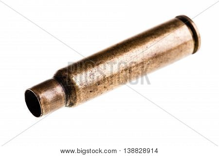 Isolated Bullet Case