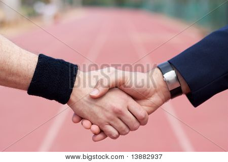 Business in running track