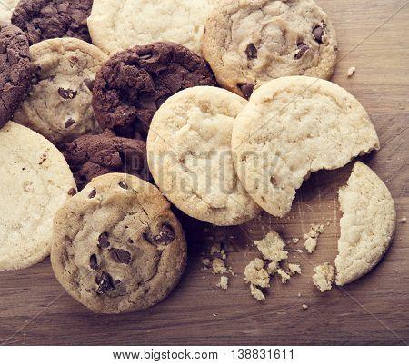 Pile of Fresh Sugar Cookies