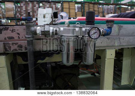 regulator gate wind white, background, equipment, technology