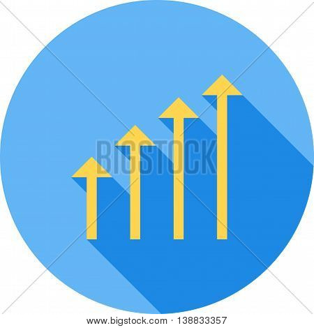 Investment, increase, profit icon vector image. Can also be used for digital web. Suitable for use on web apps, mobile apps and print media.