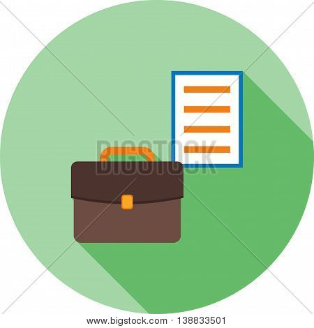 Portfolio, business, development icon vector image. Can also be used for digital web. Suitable for use on web apps, mobile apps and print media.