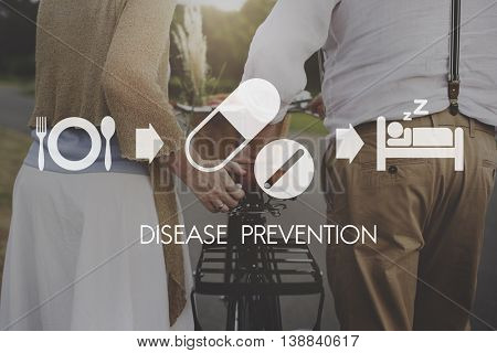Disease Prevention Medical Health Wellbeing Concept