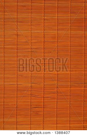 Orange Rattan Background