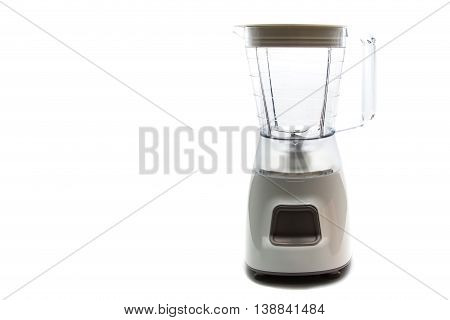 electric blender as kitchen equipment isolated on white