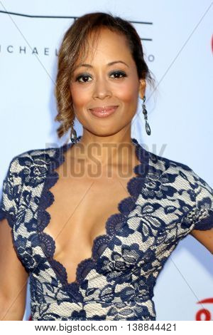 LOS ANGELES - JUL 16:  Essence Atkins at the HollyRod Presents 18th Annual DesignCare at the Sugar Ray Leonard's Estate on July 16, 2016 in Pacific Palisades, CA