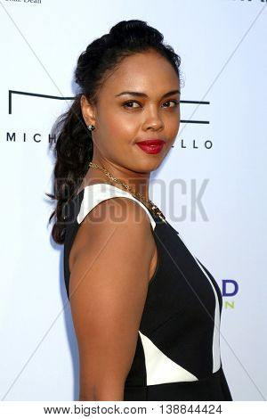 LOS ANGELES - JUL 16:  Sharon Leal at the HollyRod Presents 18th Annual DesignCare at the Sugar Ray Leonard's Estate on July 16, 2016 in Pacific Palisades, CA
