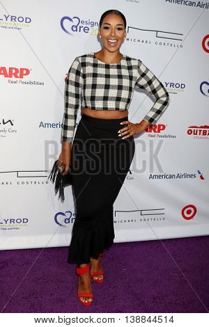 LOS ANGELES - JUL 16:  Gloria Govan at the HollyRod Presents 18th Annual DesignCare at the Sugar Ray Leonard's Estate on July 16, 2016 in Pacific Palisades, CA