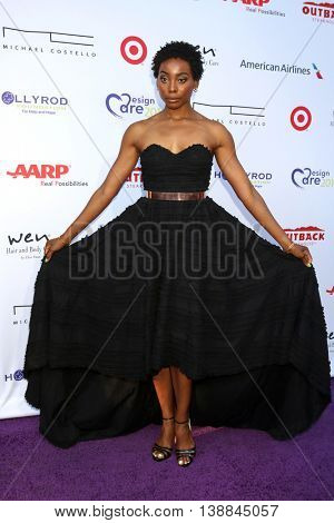 LOS ANGELES - JUL 16:  Erica Ash at the HollyRod Presents 18th Annual DesignCare at the Sugar Ray Leonard's Estate on July 16, 2016 in Pacific Palisades, CA