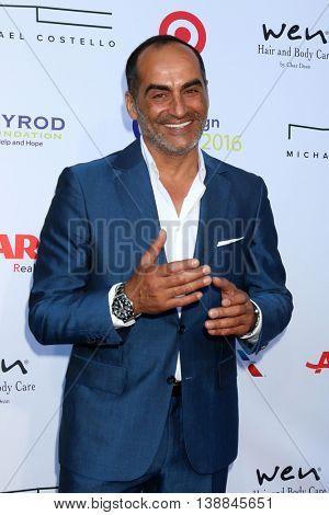 LOS ANGELES - JUL 16:  Navid Negahban at the HollyRod Presents 18th Annual DesignCare at the Sugar Ray Leonard's Estate on July 16, 2016 in Pacific Palisades, CA