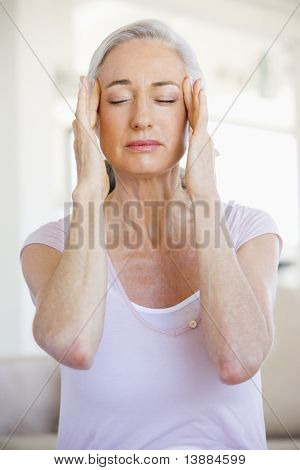 Woman With A Headache