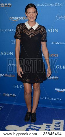 LOS ANGELES - JUL 14:  Odette Annable at the Gleason LA Premiere Screening at the Regal 14 Theaters at LA Live on July 14, 2016 in Los Angeles, CA