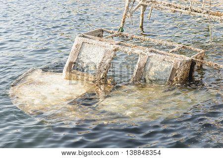 fishing boat sunk in the Adriatic Sea