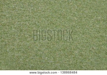 Green Felt As Background