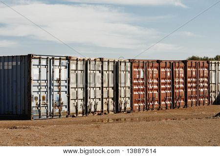 Shipping Export Freight Containers