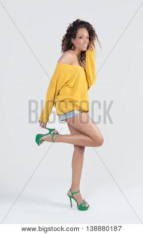 Brazilian Smiling Woman
