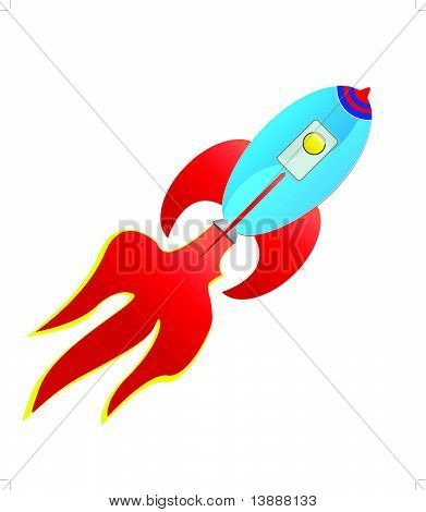 flying rocket