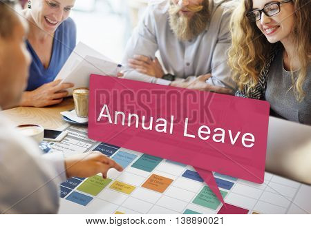 Annual Leave Vacation Free Time Holiday Concept