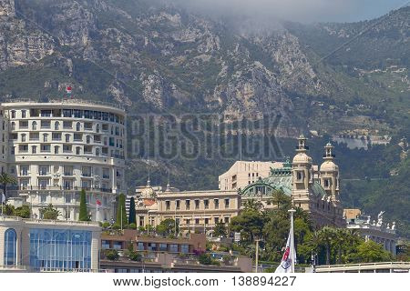 Famous Grand Casino Of Monte Carlo In Monaco