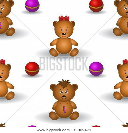 Background, teddy bears