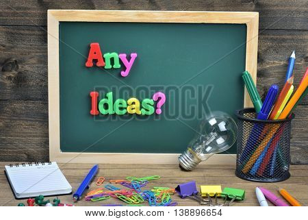 Any idead ? text on school board