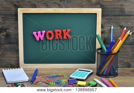 Work word on school board