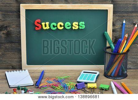 Success word on school board