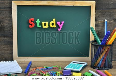 Study word on school board