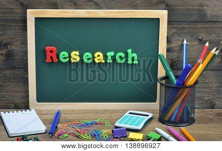 Research word on school board