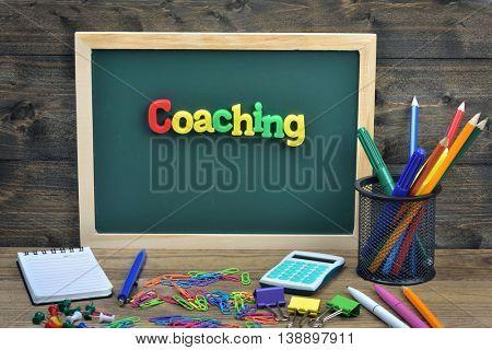 Coaching word on school board