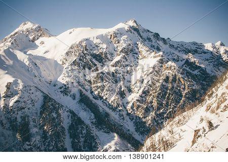 Mountains Panorama.