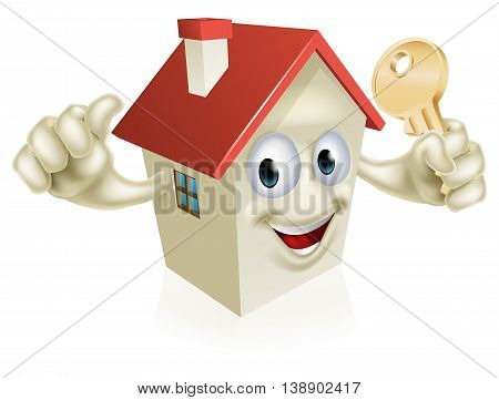 Thumbs Up House With Key