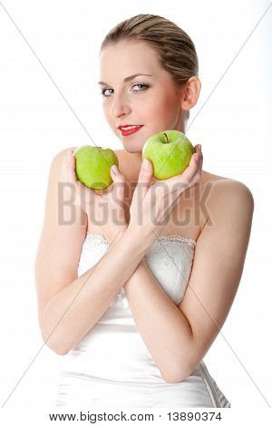 Vegetarian sexy woman