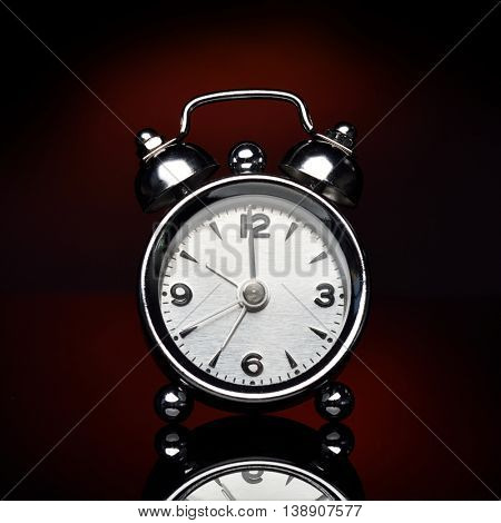 alarm clock in studio