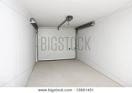 Empty Garage Or Warehouse